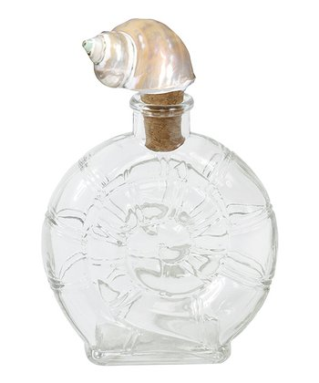 Cape Town Shell-Topped Nautilus Bottle