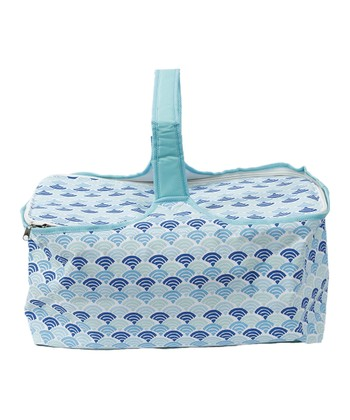 Ocean Wave Picnic Basket