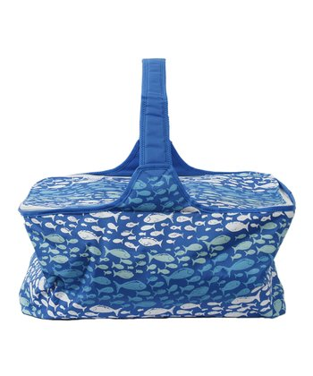 Blue Fish Picnic Basket