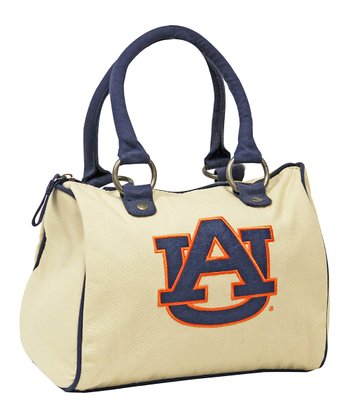 Natural Auburn Tryout Satchel