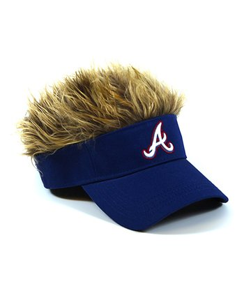 Blue Atlanta Braves Crazy Visor