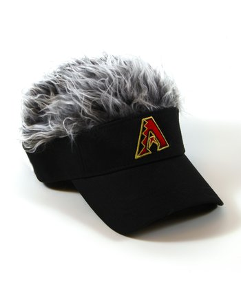 Black Arizona Diamondbacks Crazy Visor