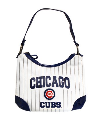 White Chicago Cubs Huddle Purse