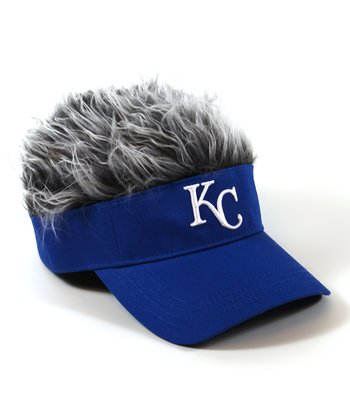 Blue Kansas City Royals Crazy Visor