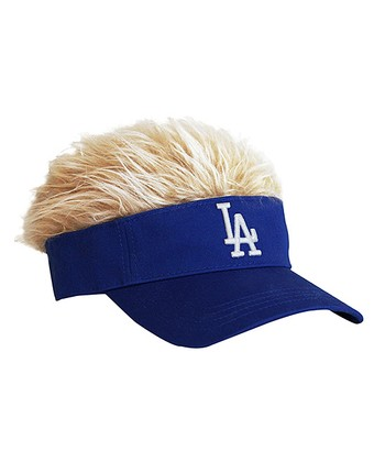 Blue Los Angeles Dodgers Crazy Visor