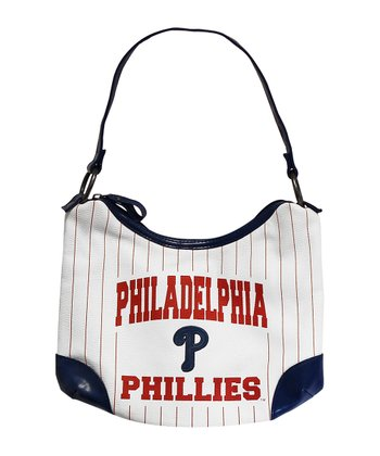 White Philadelphia Phillies Huddle Purse