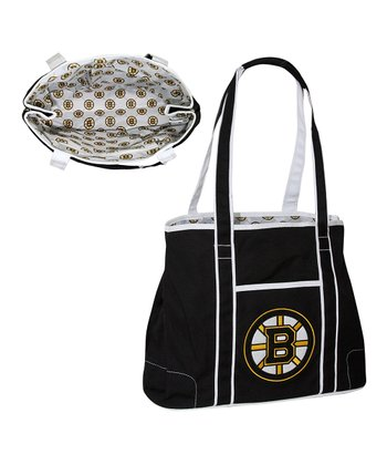 Black Boston Bruins Hampton Tote