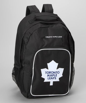 Black Toronto Maple Leafs Southpaw Backpack