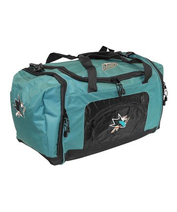 Teal San Jose Sharks Roadblock Duffel Bag