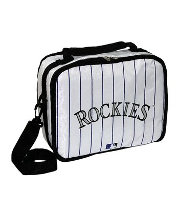 White Colorado Rockies Lunch Break Lunch Box