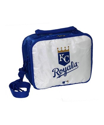 White Kansas City Royals Lunch Break Lunch Box
