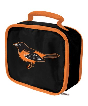 Black Baltimore Orioles Lunch Break Lunch Box