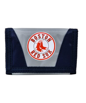 Gray Boston Red Sox Chamber Wallet