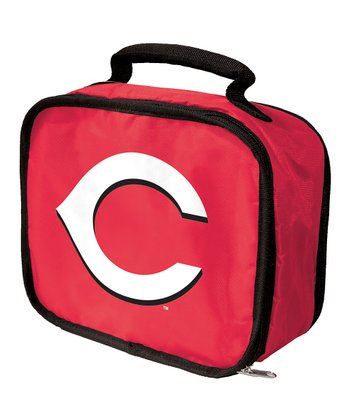 Red Cincinnati Reds Lunch Break Lunch Box