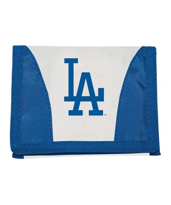 White Los Angeles Dodgers Chamber Wallet