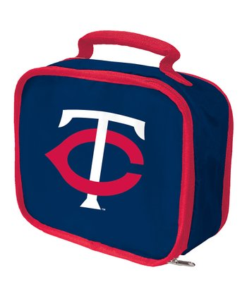 Navy Minnesota Twins Lunch Break Lunch Box
