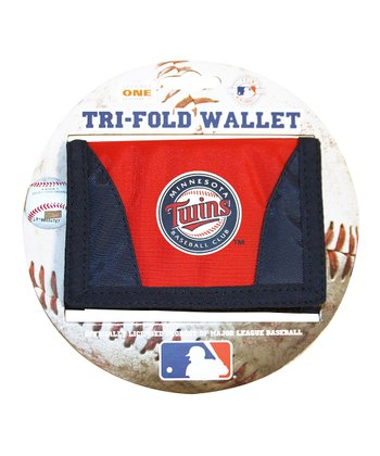 Navy Minnesota Twins Chamber Wallet