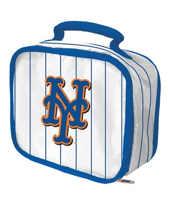 New York Mets White Lunch Break Lunch Box