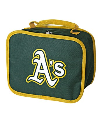 Hunter Green A's Lunch Break Lunch Box