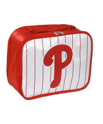 White Philadelphia Phillies Lunch Break Lunch Box