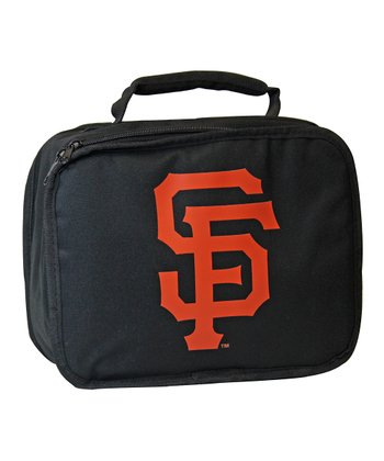 Black San Francisco Giants Lunch Break Lunch Box
