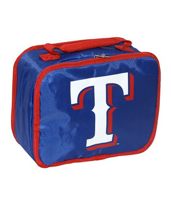 Dark Blue Texas Rangers Lunch Break Lunch Box