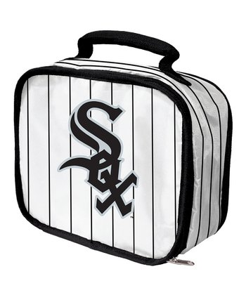 White Chicago White Sox Lunch Break Lunch Box