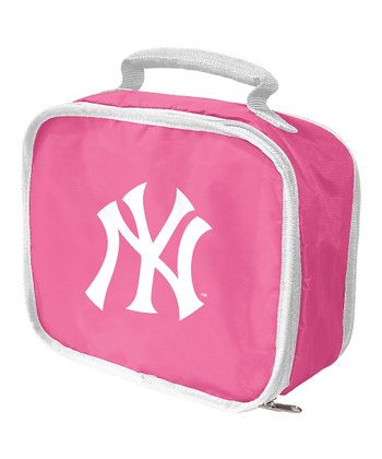 Pink New York Yankees Classic Lunch Break Lunch Box