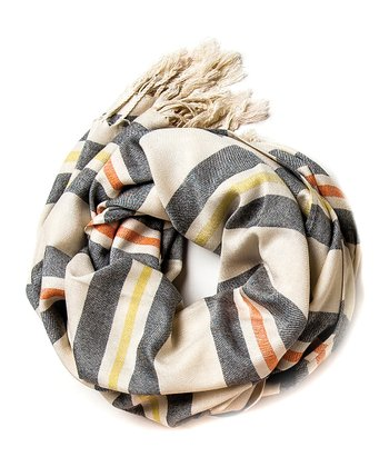 Spartina 449 Gray & Yellow Skipper Scarf