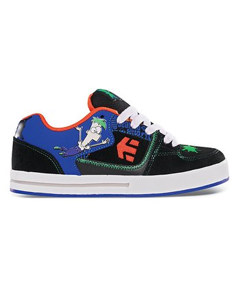 Green & Orange Suede Disney Ronin Sneaker