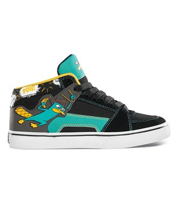 Black & Blue Disney RVM Vulcan Hi-Top Sneaker