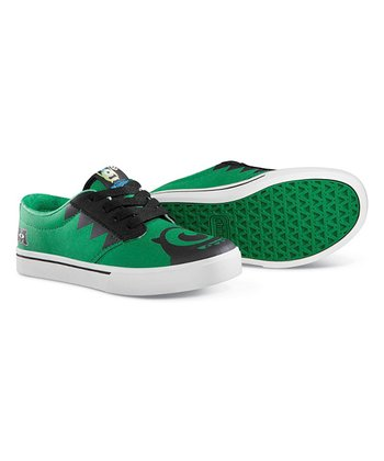 Green & Black Disney Monsters Jameson Sneaker