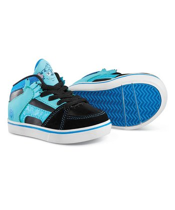 Black & Blue Suede Disney Monsters RVM Sneaker