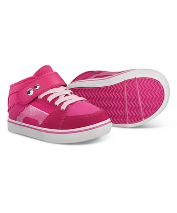 Pink Disney Monsters University RVM Hi-Top Sneaker