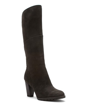 Black Stratham Heights Tall Leather Boot - Women