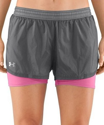 Graphite See Me Go Translucent 2-in-1 Shorts
