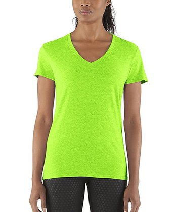 Hyper Green Charged Cotton® Undeniable Tee