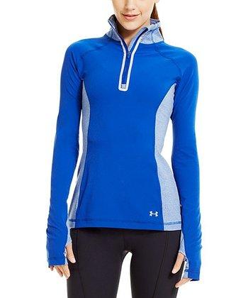 Blu-Away Stretch Woven Half-Zip Pullover