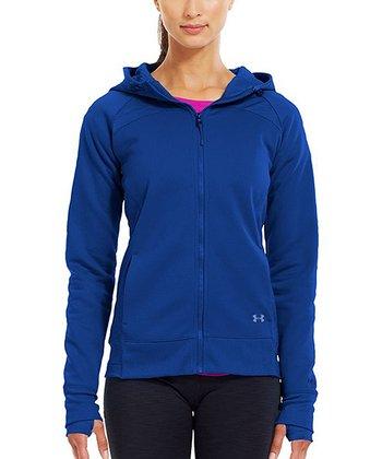 Blu-Away ColdGear® Infrared Armour® Fleece Storm Zip-Up Hoodie