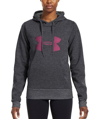 Carbon Heather Armour® Fleece Storm Pulse Big Logo Hoodie