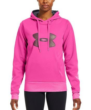 Pinkadelic Armour® Fleece Storm Pulse Big Logo Hoodie