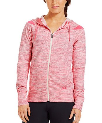 Pinkadelic Charged Cotton® Storm Marble Full-Zip Hoodie