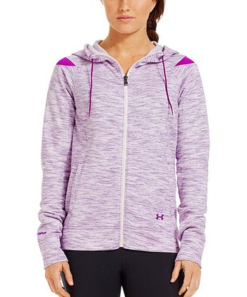 Strobe Charged Cotton® Storm Marble Full-Zip Hoodie