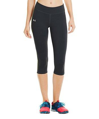 Black Pure Stretch HeatGear® Capris