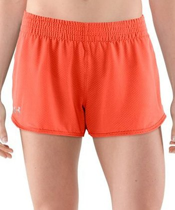 Electric Tangerine Fly-By Knit Short