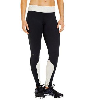 Black Cozy Tight Shimmer Leggings