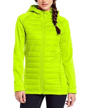 High-Vis Yellow ColdGear® Infrared Werewolf Jacket