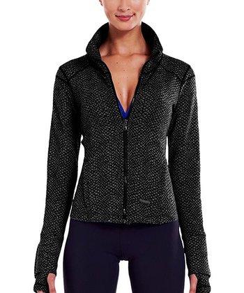 Black StudioLux® Cozy Jacket