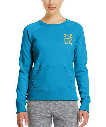 Pirate Blue Charged Cotton® Legacy Crewneck Top