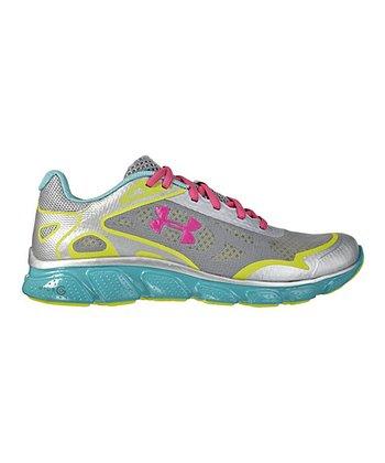 Metallic Silver Micro G® Pulse Running Shoe